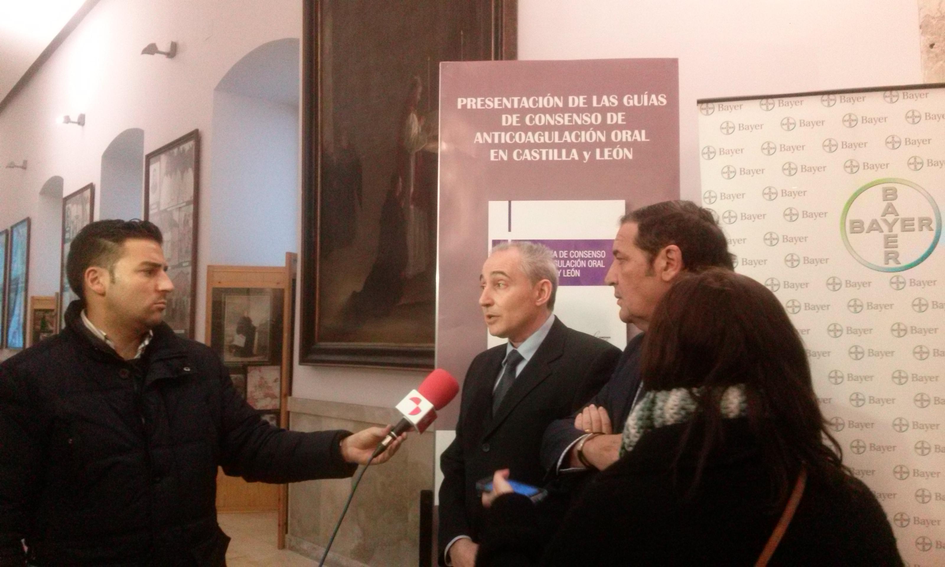 PRESENTACIÓN DE LA GUÍA CLÍNICA DE CONSENSO DE ANTICOAGULACIÓN ORAL EN CASTILLA Y LEÓN