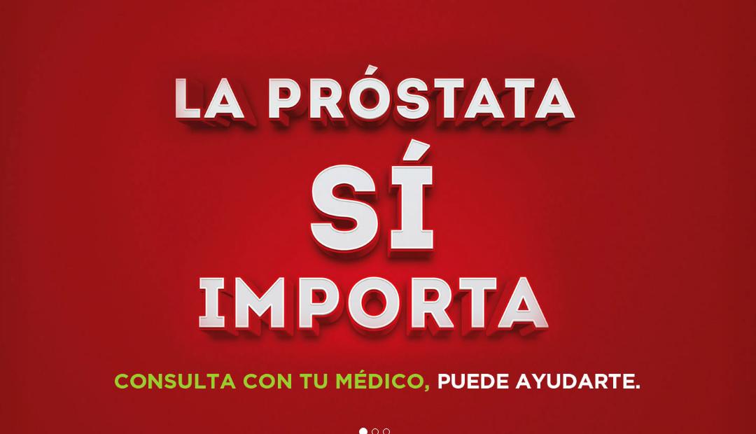 """Campaña """"la próstata sí importa"""", acuda a su médico si tiene síntomas"""