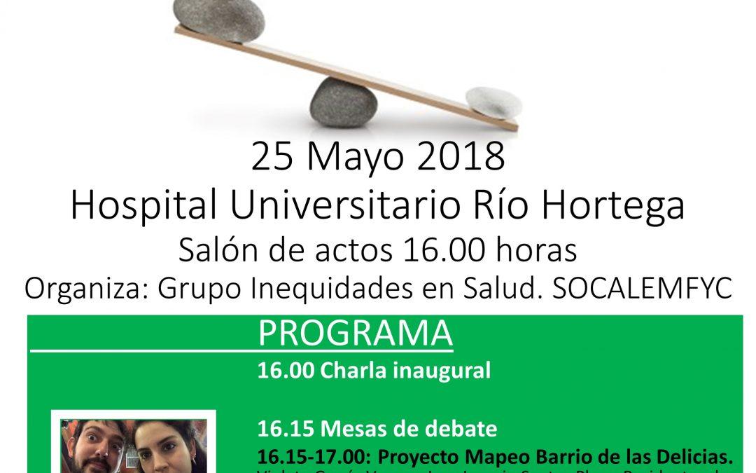 25 de mayo, Jornada inequidades en salud