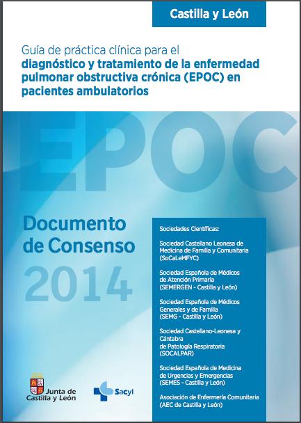 Guía de práctica clínica para el diagnóstico y tratamiento de EPOC en pacientes ambulatorios. (VV.AA 2014)