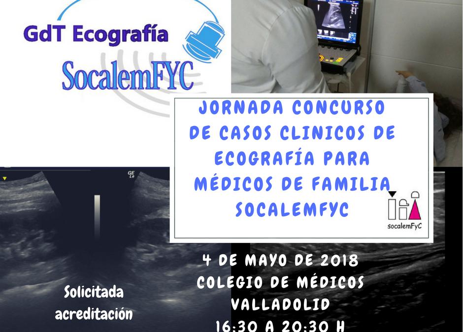 Jornada de presentación de casos clínicos en ecografía el 4 de mayo