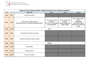 Programa II Encuentro Grupos trabajo socalemfyc