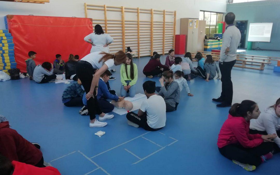 Promoción de la RCP entre escolares de Primaria y Secundaria